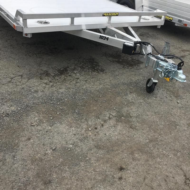 """2020 Aluma 100"""" x 288"""" Beaver Tail Utility Trailer"""