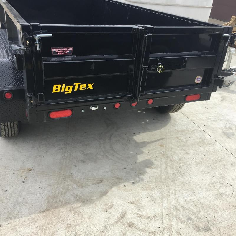 "2019 Big Tex Trailers 60"" x 10' Dump Trailer"