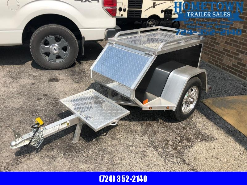 "2019 Aluma (45"" x 86"") Single Axle Motorcycle Trailer"