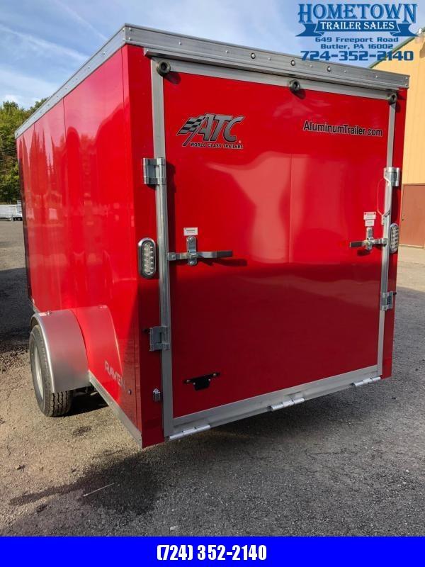 2019 ATC RAVEN (6' x 12') Single Axle Enclosed Cargo Trailer w/ Ramp