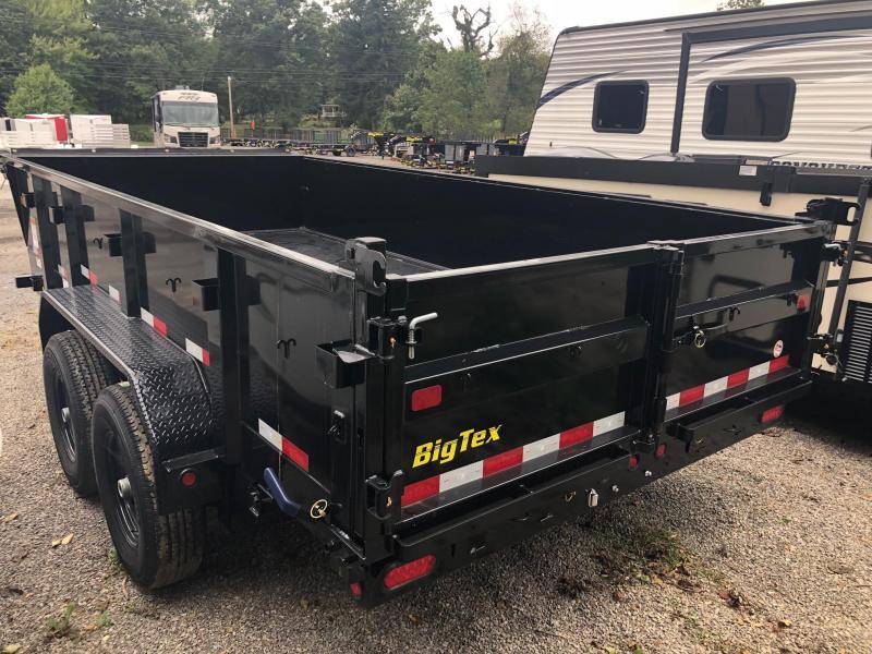 "2019 Big Tex (6'9"" x 14') Tandem Axle Dump Trailer"
