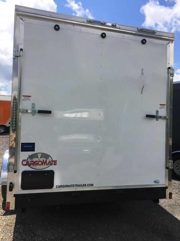 2019 Cargo Mate 7x16 Enclosed Cargo Trailer
