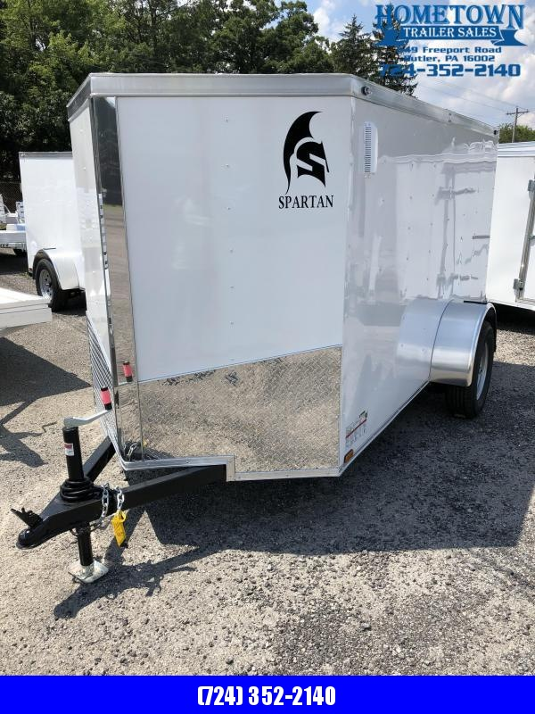 2020 Spartan 5x10 Enclosed Cargo Trailer