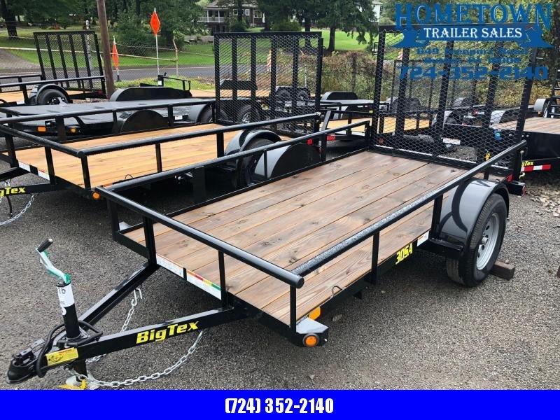 2019 Big Tex 30SA-10 (5' x 10') Single Axle Utility Trailer