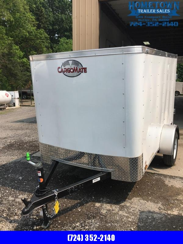 2019 Cargo Mate 5x8 Enclosed Cargo Trailer