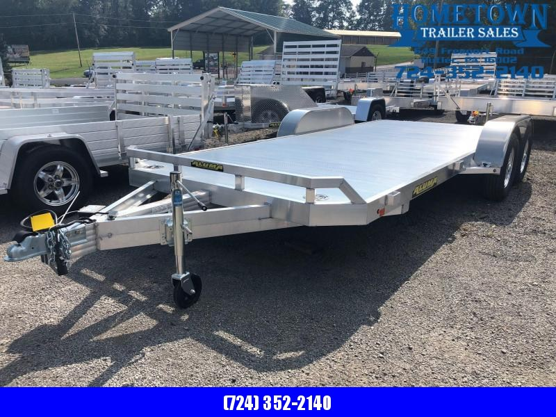 """2019 Aluma (6'10"""" x 18')  Model  8218B Tandem Axle Car Hauler"""