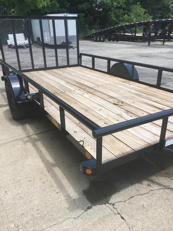 "2019 Big Tex Trailers 77"" x 14' Utility Trailer"