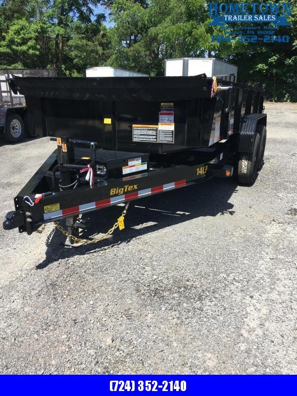 2020 Big Tex Trailers 14LP-14 Dump Trailer