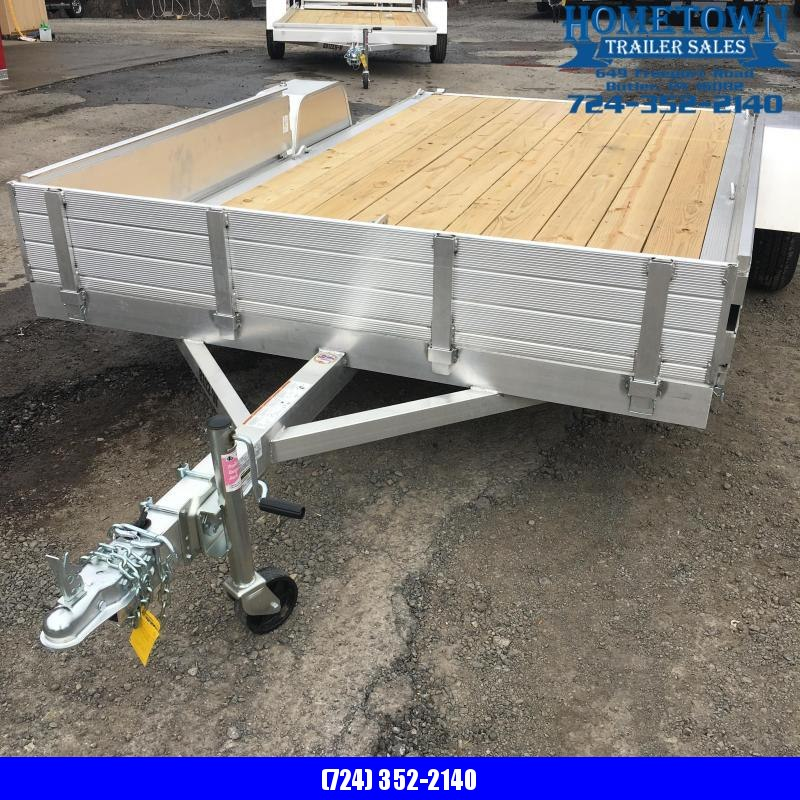 "2020 Aluma 81"" x 144"" Single Axle Utility Trailer"