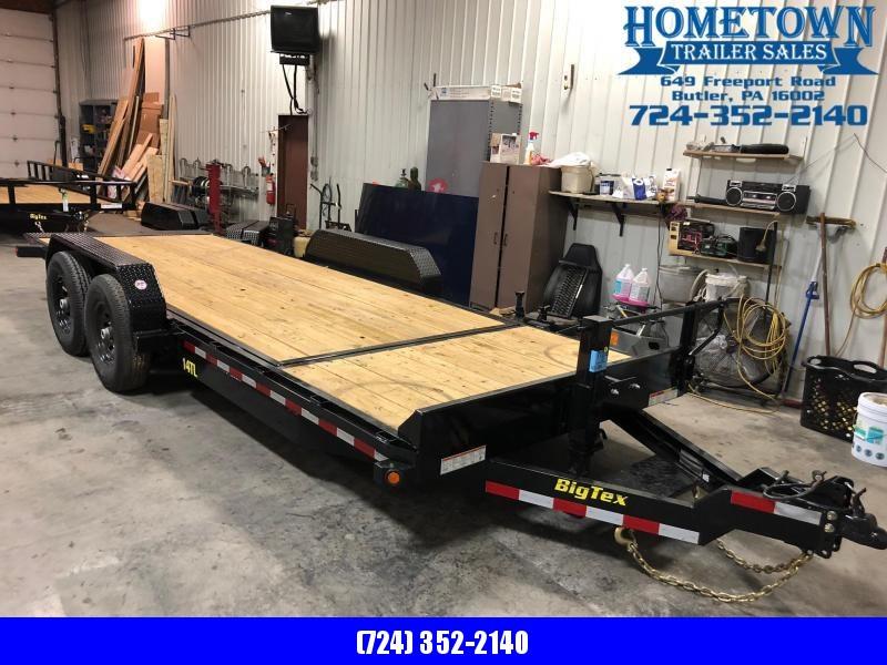 """2019 Big Tex Model 14TL-20 (6'9"""" x 20') Heavy Duty Tilt Bed 14000# Tandem Axle Equipment Trailer"""