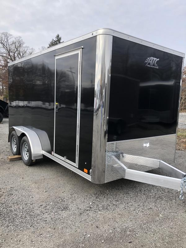 2020 ATC 7X14 Enclosed Cargo Trailer