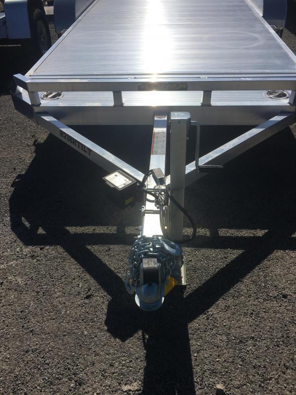 "2020 Aluma Model 8218TILT (6' 8"" x 18') Tandem Axle Utility Trailer"