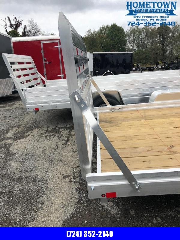 "2019 Aluma (6'5"" x 10') Single Axle Utility Trailer"