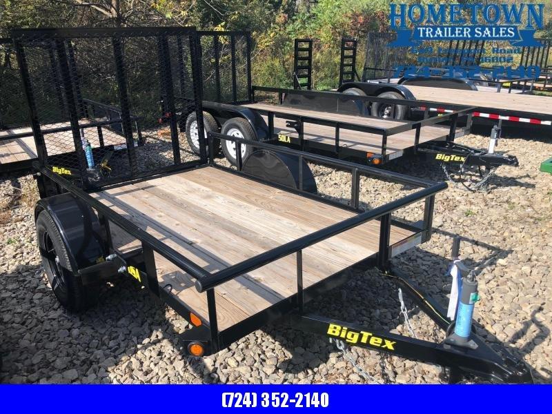 2018 Big Tex 30SA-8 (5' x 8') Single Axle Utility Trailer