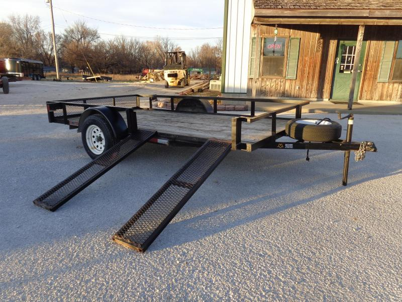 USED 2007 2G 76 x 12' ATV Utility Trailer