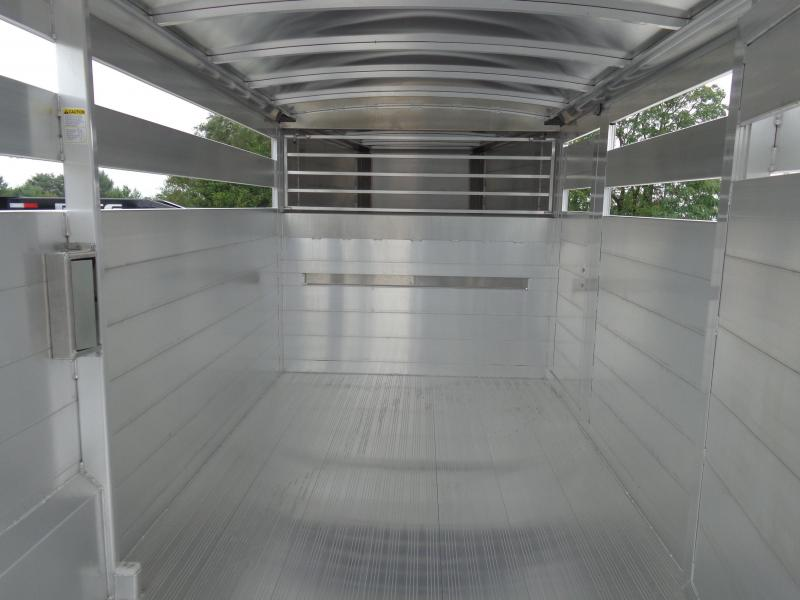 2020 Hillsboro 20' x 7' Endura Aluminum Gooseneck Livestock Trailer
