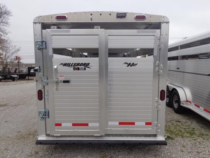 Hillsboro 22'x7' Endura Aluminum Gooseneck Livestock Trailer