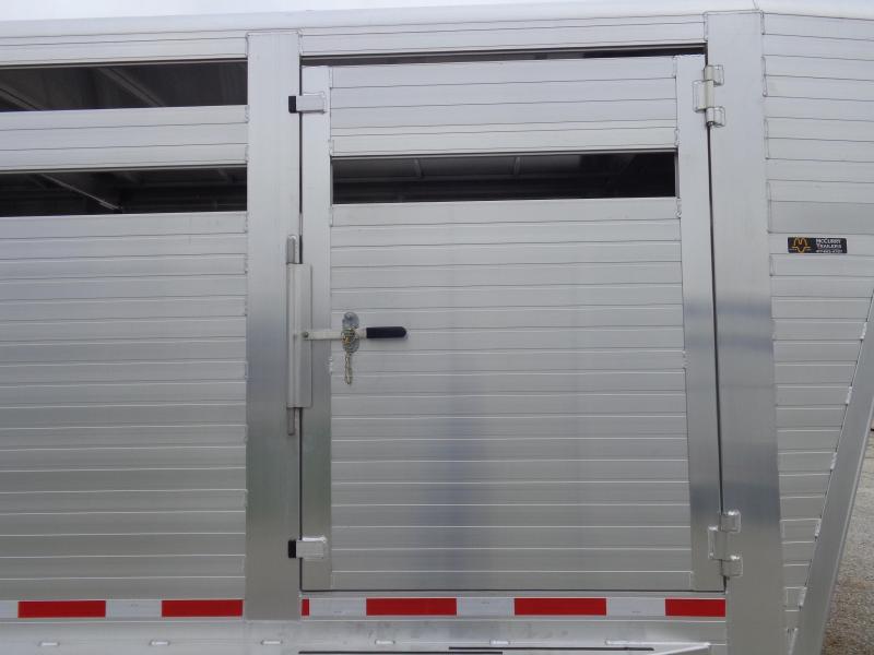 2020 Hillsboro 26'x7' Endura Aluminum Gooseneck Livestock Trailer
