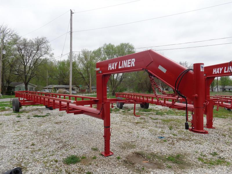 42'  Hay Liner Gooseneck Hay Trailer