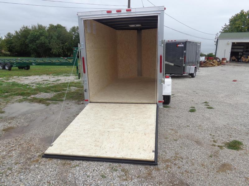 Box Cargo 6'x12' Diamond Ice Bumper Pull Enclosed Cargo Trailer