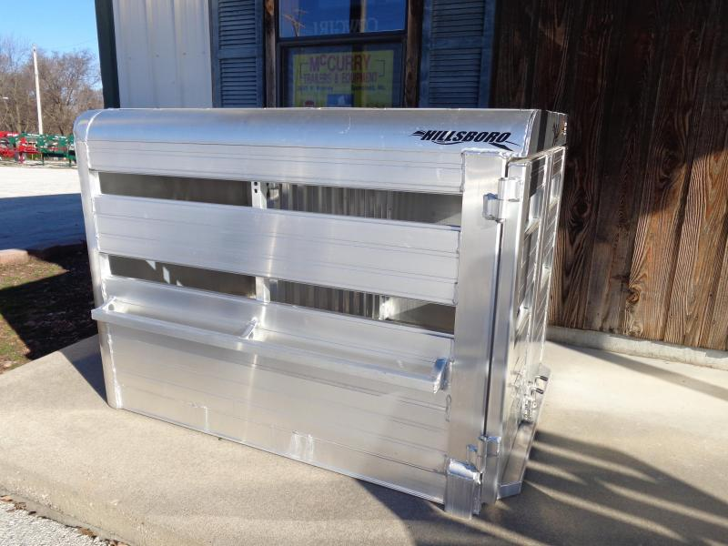 Hillsboro Industries 44 x 60 Aluminum Stock Box Truck Boxes (Livestock and Dog)