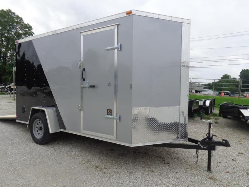 Box Cargo 6'x12' Bumper Pull Enclosed Cargo Trailer