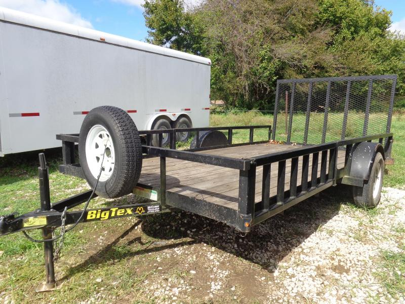 USED 2014 Big Tex 82 x 14' ATV Utility Trailer Utility Trailer