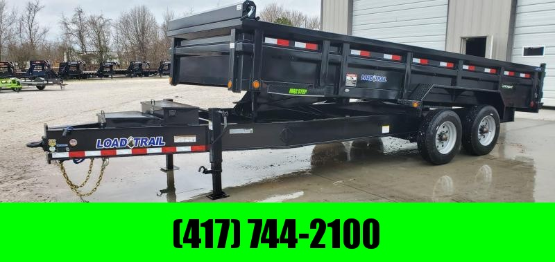 "2020 Load Trail 83X20 DH DUMP W/1OK TORSION AXLES(17.5""/16PLY) EXTRA TOOLBOX & 23K HOIST"
