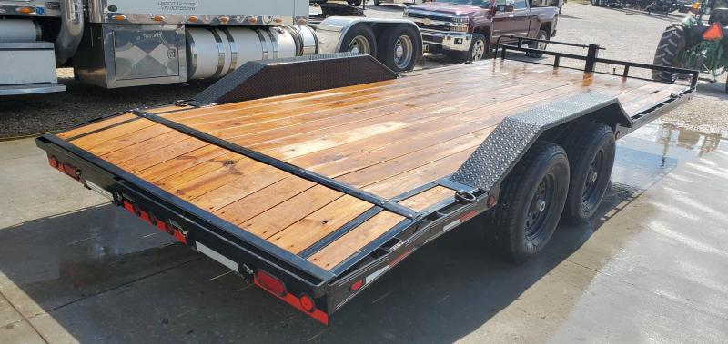 2018 Load Trail 102X20(18+2) TANDEM 14K CAR HAULER W/DRIVE OVER FENDERS & SLIDE OUT RAMPS