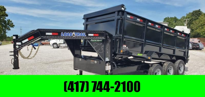 2020 Load Trail 83X16 TRIPLE 21K DUMP W/621 HOIST & 4' SIDES