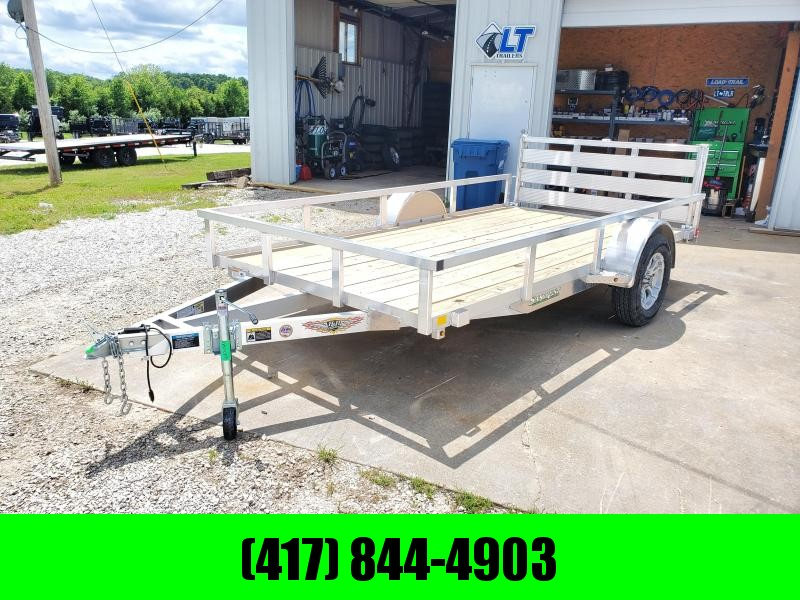 2020 H and H 76X12 SINGLE 3.5K ALUMINUM UTILITY W/BI-FOLD GATE
