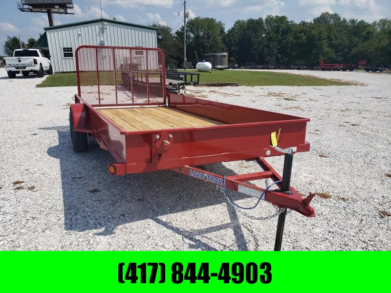 "2020 Load Trail 77"" x 14' Single Axle  Solid Sides Utility Trailer"