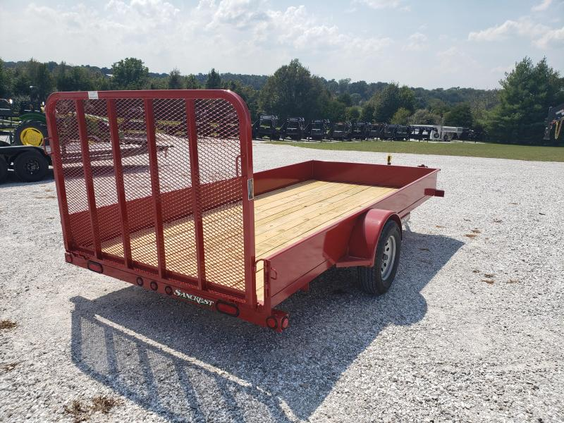 """2020 Load Trail 77"""" x 14' Single Axle  Solid Sides Utility Trailer"""