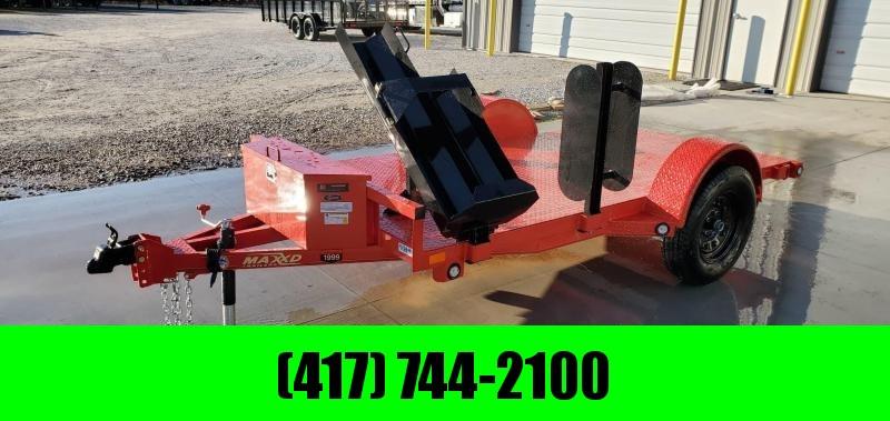 2020 MAXXD 61x10 FLAME RED WELDING TRAILER W/STEEL FLOOR