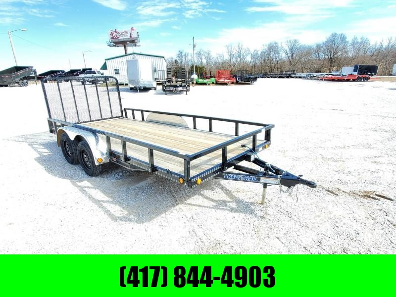 "2020 Load Trail 83"" x 16' Tandem Axle Utility (4"" Channel Frame)"
