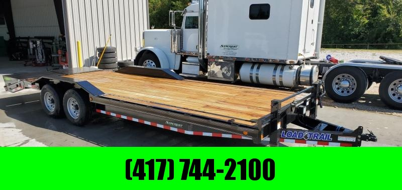 2020 Load Trail 102X24(21+3) TANDEM 14K CAR/EQUIPMENT TRAILER W/ MAX RAMPS