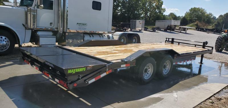 2020 Load Trail 102X24(21+3) TANDEM 14K CAR/EQUIPMENT TRAILER W/ MAX RAMPS