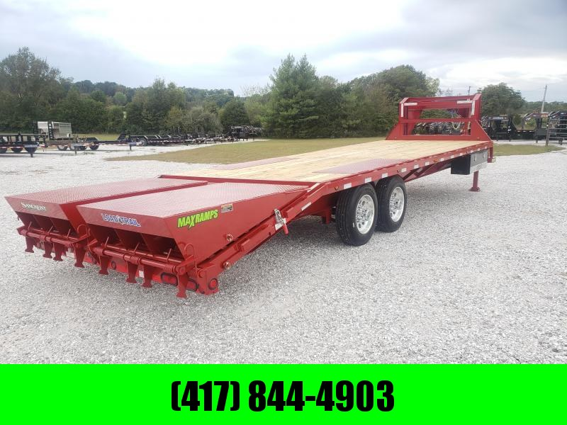 "2020 Load Trail 102"" x 28' Tandem Heavy Duty Gooseneck W/ 8K AXLES"