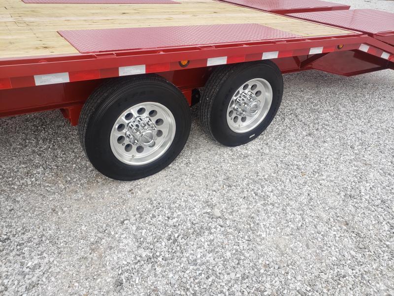"2020 Load Trail 102"" x 28' Tandem Heavy Duty Gooseneck W/ 8K AXLES"