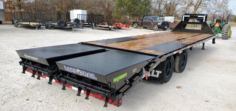2020 Load Trail 102X30(25+5) TANDEM LO-PRO GOOSENECK W/10K AXLES MAX RAMPS