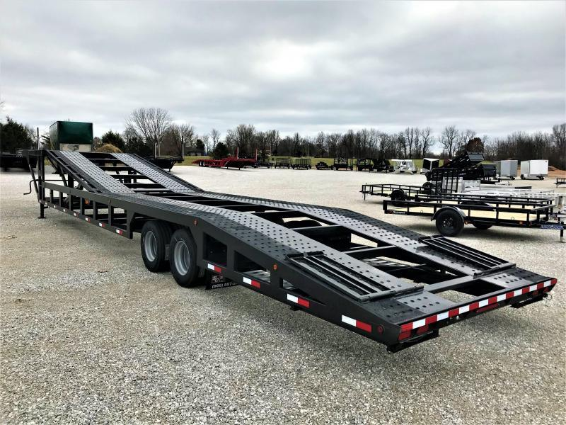 2020 SUN COUNTRY 4 CAR DROPDECK TRAILER