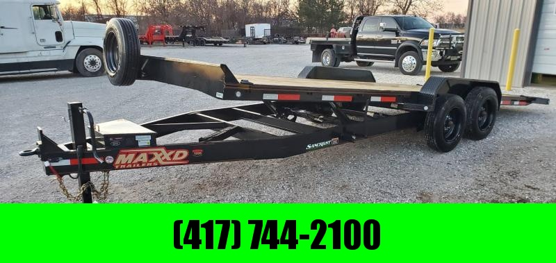 "2020 MAXXD 83X22 TANDEM T8X POWER TILT W/8K AXLES(17.5/16PLY) & 8"" FRAME(12"" OC)"