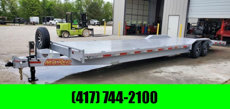 2020 MAXXD 102X32 TANDEM 14K H8X BUGGY HAULER W/ TORQUE TUBE & SLIDE OUT RAMPS