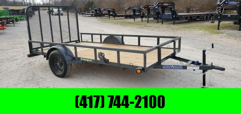 2020 Load Trail 77X12 SINGLE 3.5K TUBE TOP GRAY UTILITY W/4' TUBE GATE