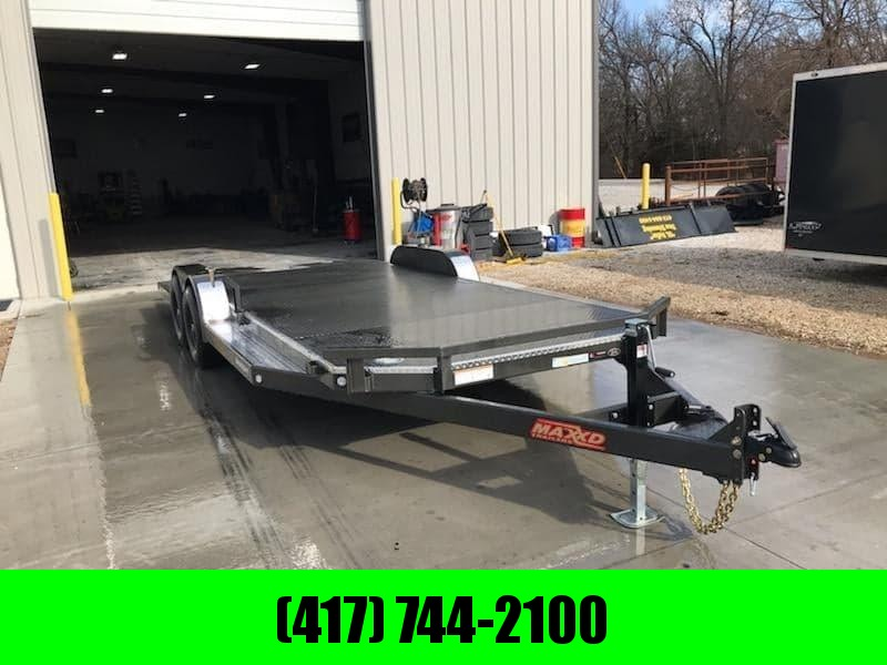 2020 MAXXD 83X20 TANDEM 10K METALLIC GRAY N5X W/4' SPLIT TAIL