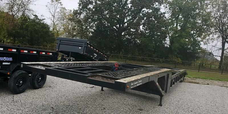 2015 Sun Country 53' NEX GEN FRAME AIR RIDE / AIR BRAKE 4 CAR HAULER W/ONE TILT DECK