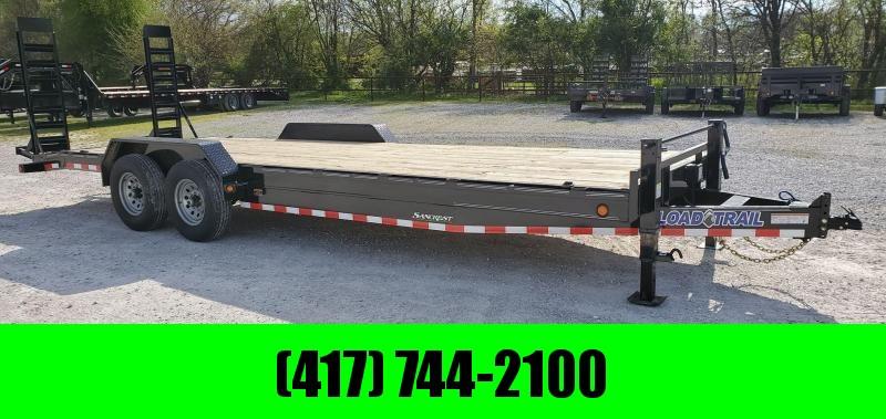 2020 Load Trail 83X24 TANDEM 14K CAR/EQUIPMENT HAULER W/ 2-10K JACKS & STAND UP RAMPS