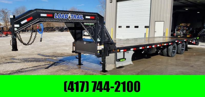 2020 Load Trail 102X28 TANDEM LO-PRO GOOSENECK W/12K HYD DISC TORQUE TUBE & MAX RAMPS