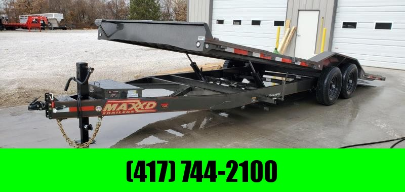 2020 MAXXD 102X24 TANDEM 14K T8X POWER TILT CAR/EQUIPMENT HAULER