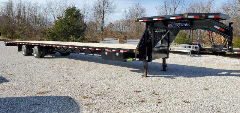 "2020 Load Trail 102X44 TANDEM GOOSENECK W/DECK OVER NECK 2 SPEED JACKS & 15K AXLES(HYD DRUM)72"" SPREAD"